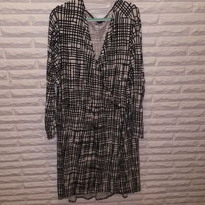 Ava and viv faux wrap dress nwot 3x